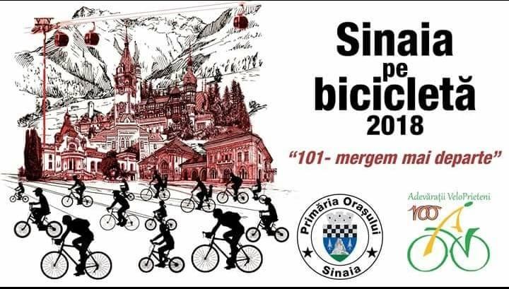 Sinaia pe bicicleta 2018